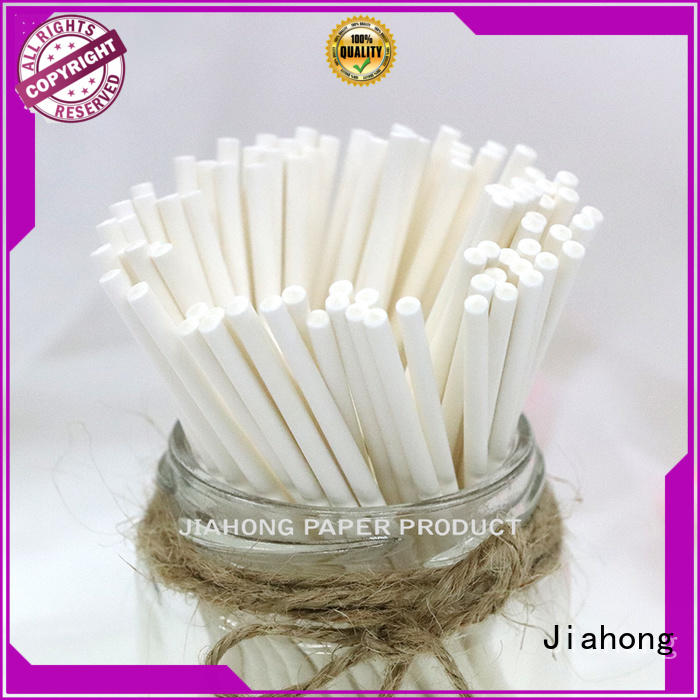 Jiahong smooth flag paper stick certification for flag stick