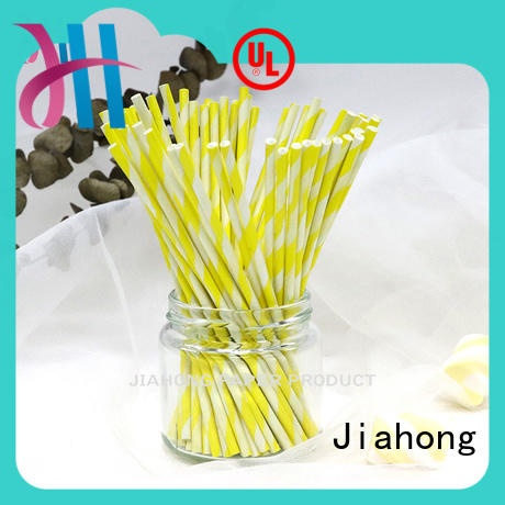 environmental lollipop sticks long in different colors for lollipop