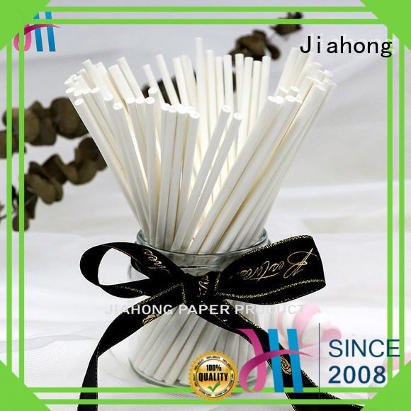 Jiahong safe handcraft paper sticks uses for flag flagpoles