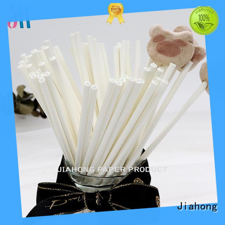hot-sale white lollipop sticks stick in different colors for lollipop