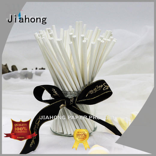 Jiahong diy wholesale lollipop sticks types for lollipop