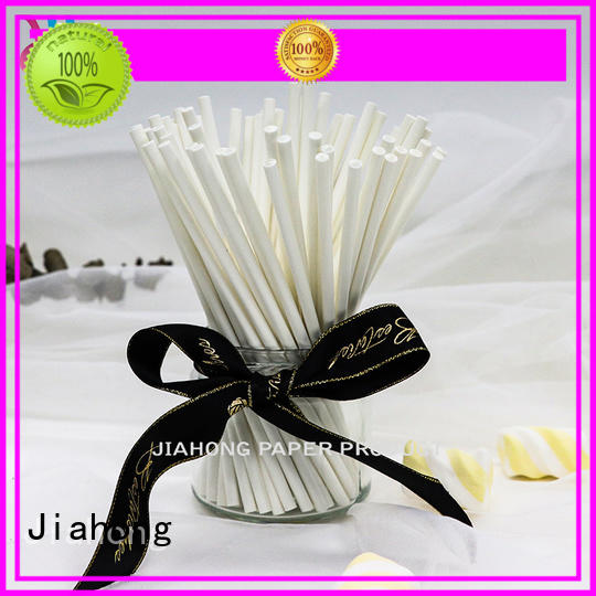 Jiahong diy large lollipop sticks types for lollipop