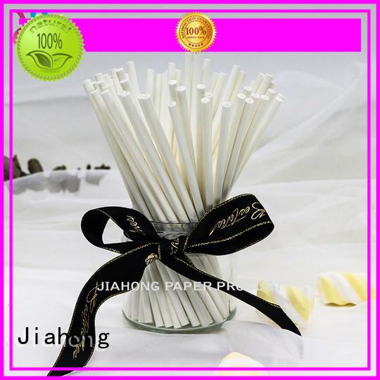 Jiahong diy large lollipop sticks types for lollipop