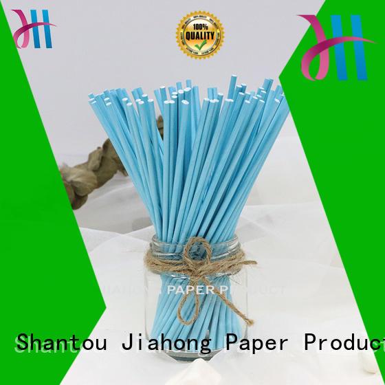 Jiahong grade coloured lollipop sticks types for lollipop