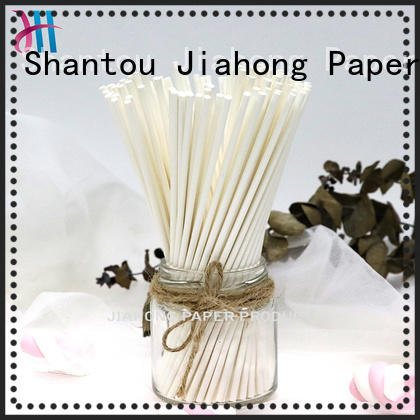 Jiahong fashion design colored lollipop sticks for lollipop