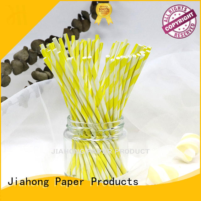 environmental coloured lollipop sticks grade for lollipop Jiahong