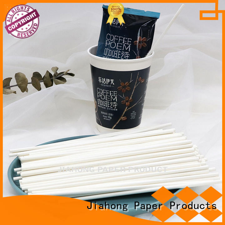 Jiahong reusable bulk coffee stirrers from manufacturer for packed coffee