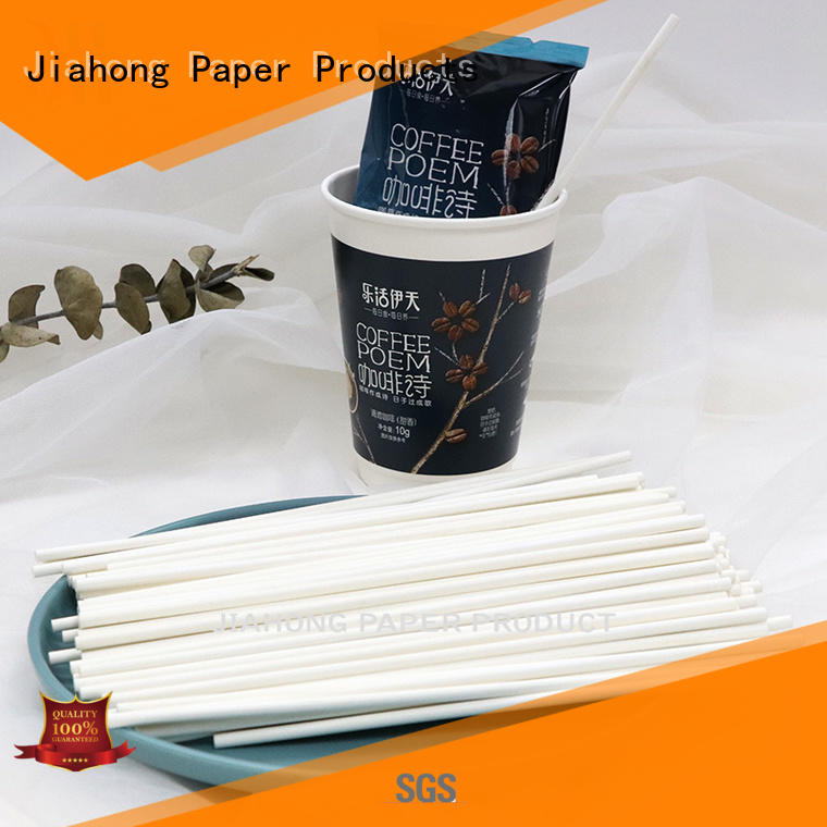 Jiahong reusable paper coffee stirring stick vendor for restaurant