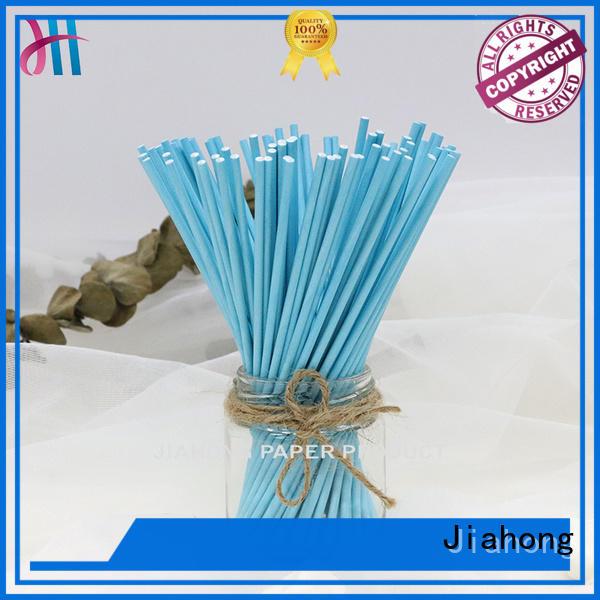 Jiahong safe lollipop paper stick markting for lollipop