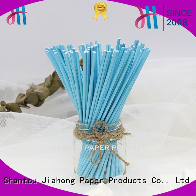 Jiahong clean 4 inch lollipop sticks lollipop for lollipop