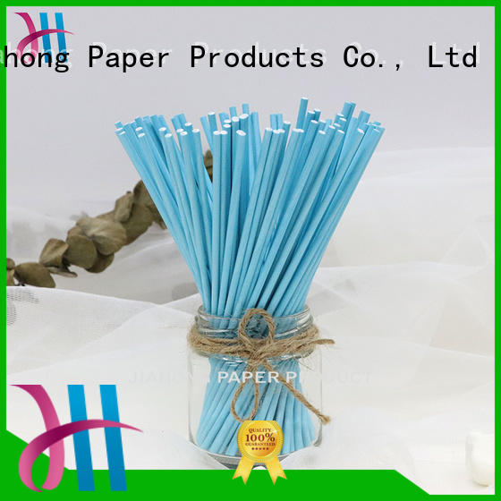 Jiahong safe white lollipop sticks types for lollipop