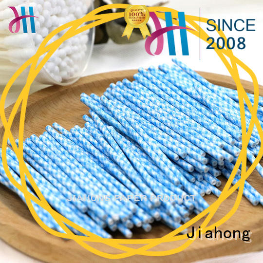 Jiahong stick cotton swab paper stick producer for hospital
