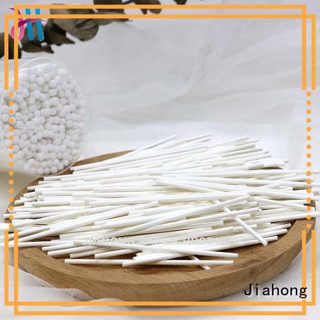 Jiahong durable cotton swab paper stick certification for hospital