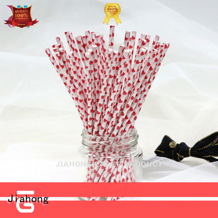 Jiahong cookie pop sticks paper for bakery