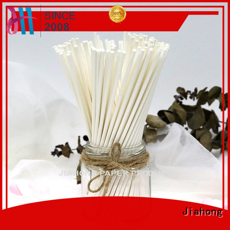 lollipop sticks bulk Food grade environmental candy paper sticks 3.0*85mm