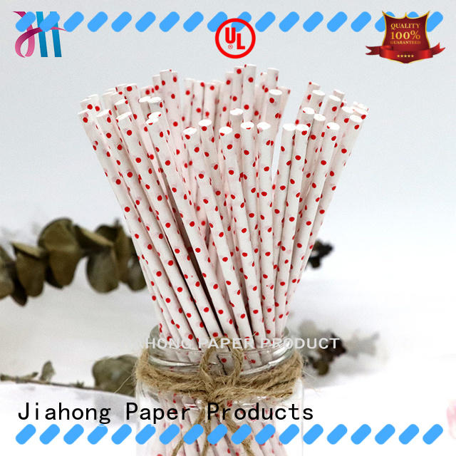 Jiahong certificated lolly pop sticks markting for lollipop
