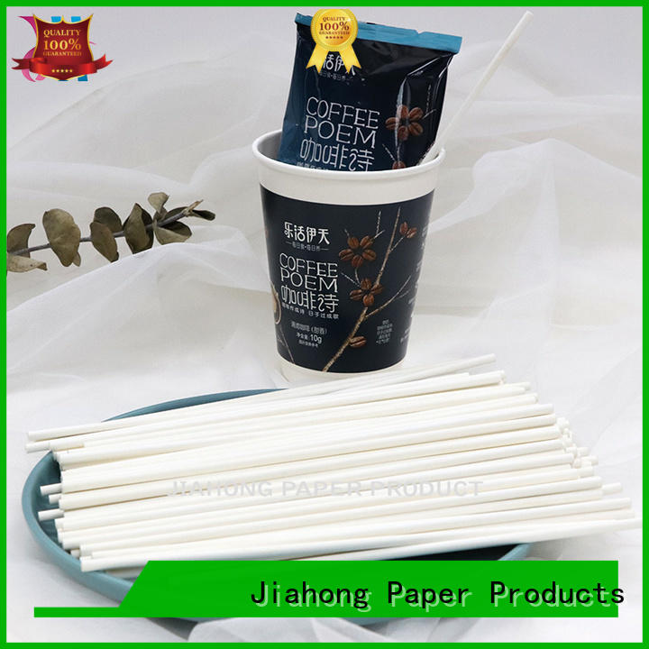 Jiahong stirring long coffee stirrers order now for restaurant