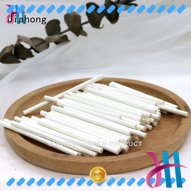 Jiahong fine quality hand fan sticks owner for marshmallows