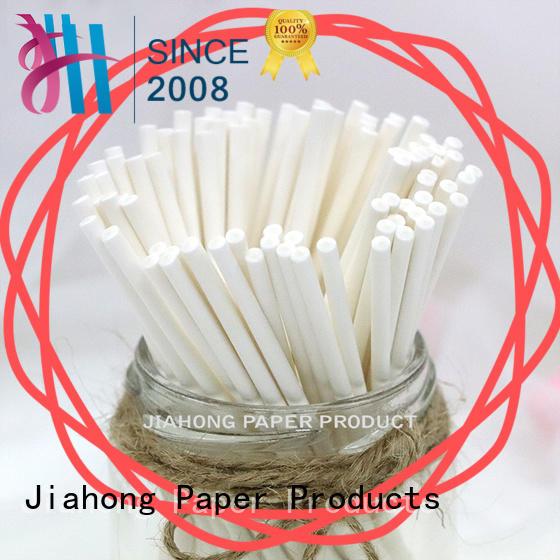 Jiahong hand flag paper stick supplier for card