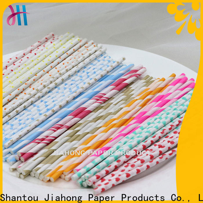 Jiahong new-arrival coloured lollipop sticks types for lollipop