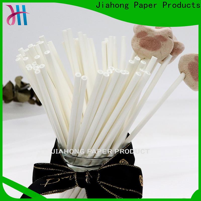 Jiahong popular coloured lollipop sticks markting for lollipop