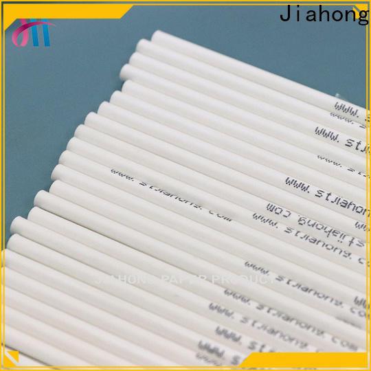 Jiahong customized lollipop paper stick for lollipop