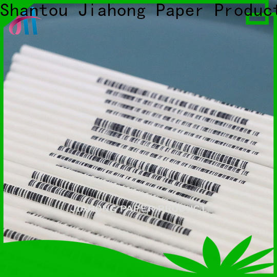 Jiahong paper personalized lollipop stickers for lollipop