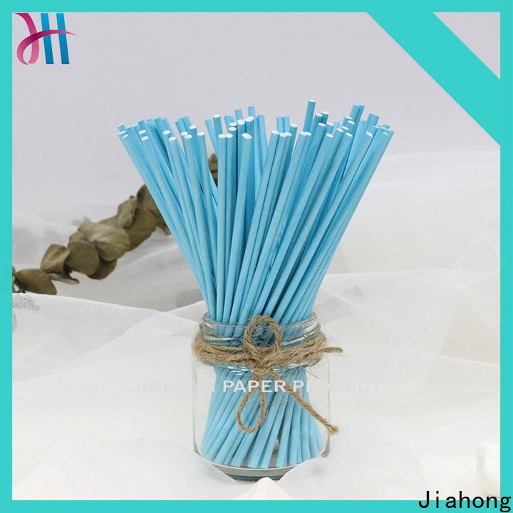 Jiahong colorful custom lollipop sticks shop now for lollipop
