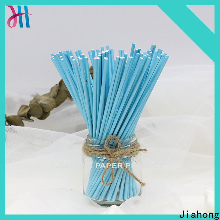 Jiahong safe blue lollipop sticks grab now for lollipop