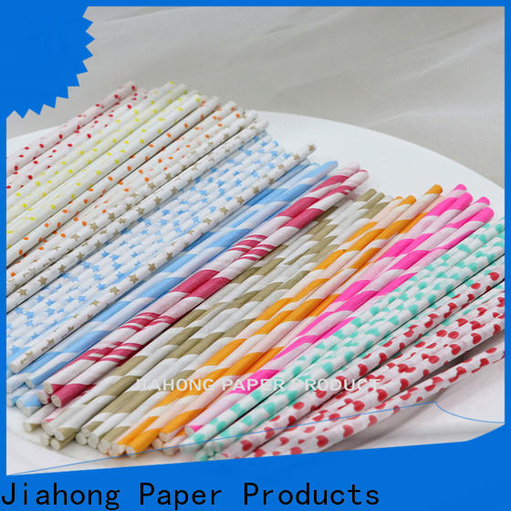 Jiahong logo colored lollipop sticks for lollipop