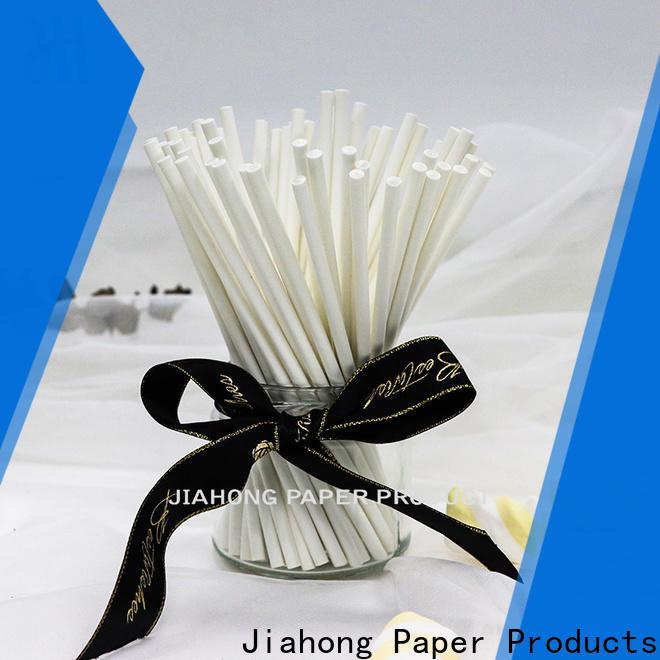 Jiahong paper lollipop sticks bulk for lollipop