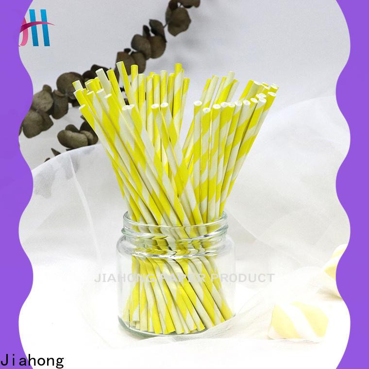 Jiahong fda white lollipop sticks factory price for lollipop