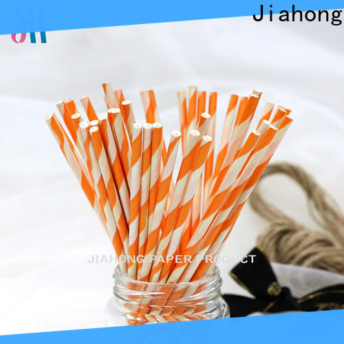 Jiahong paper candy floss sticks wholesale