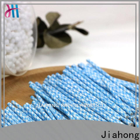 Jiahong fine- quality cotton swab paper stick overseas for medical