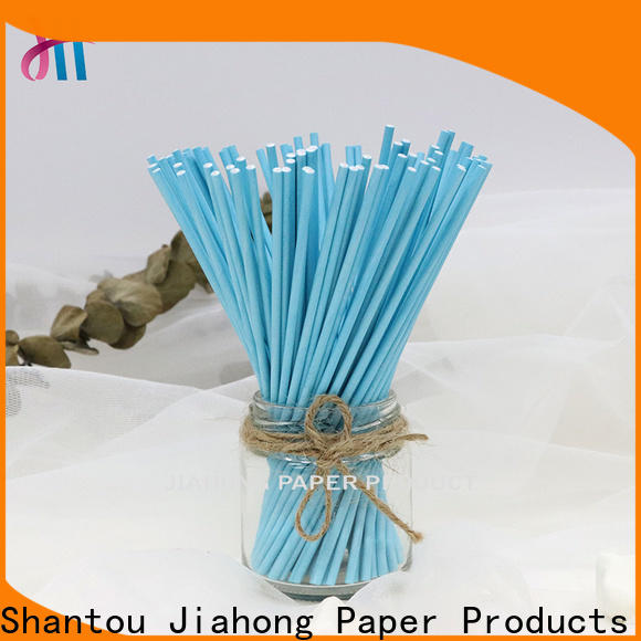 Jiahong sale coloured lollipop sticks in different colors for lollipop