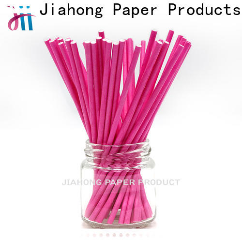 Jiahong new-arrival colored lollipop sticks vendor for lollipop