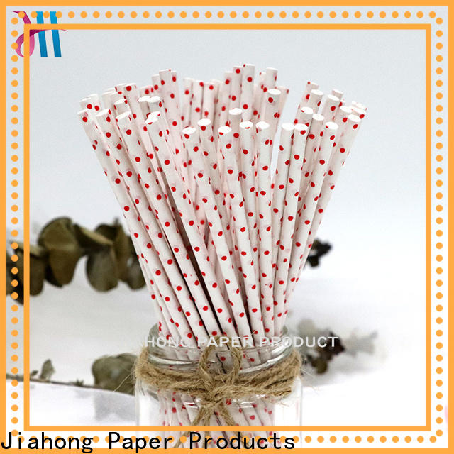 Jiahong lolly lollipop paper stick markting for lollipop