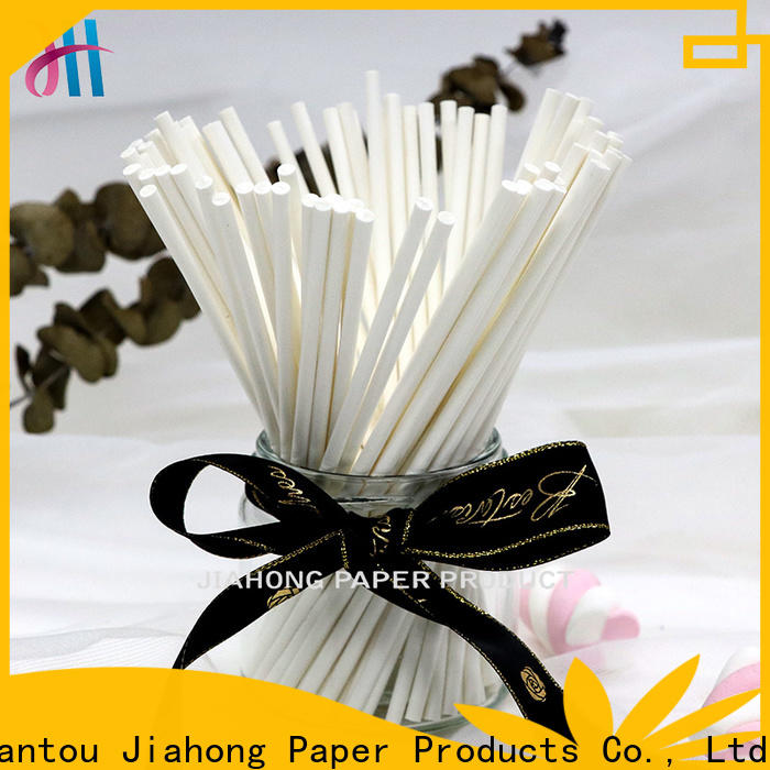 Jiahong natural hand fan sticks export for medical cotton swabs