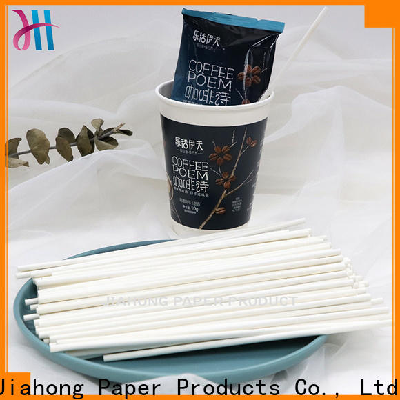 Jiahong environmental friendly drink stirrers grab now for packed coffee