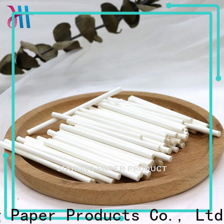 Jiahong 38150mm hand fan sticks wholesale for flag flagpoles