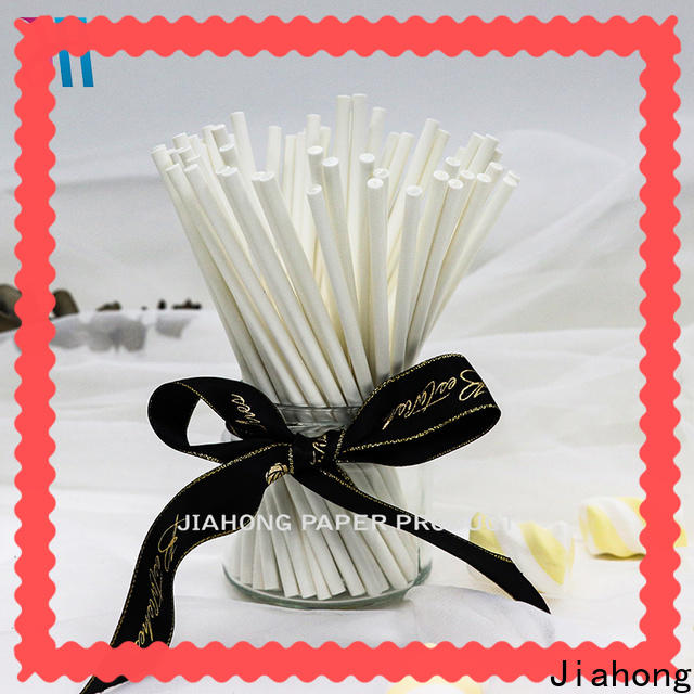 Jiahong printting paper lolly sticks grab now for lollipop