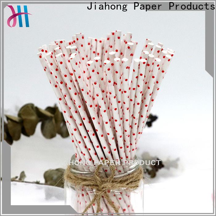 Jiahong grade lolly pop sticks for lollipop