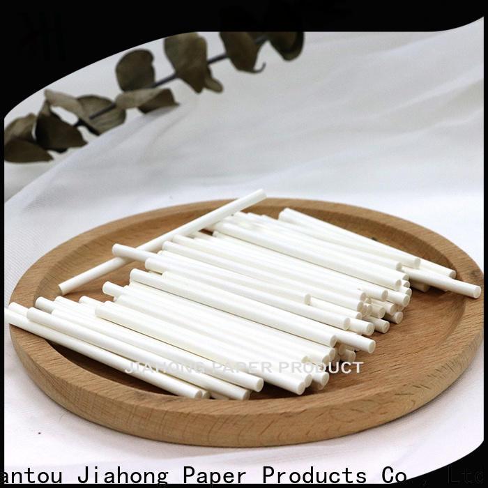Jiahong natural fsc certified paper sticks certification for marshmallows