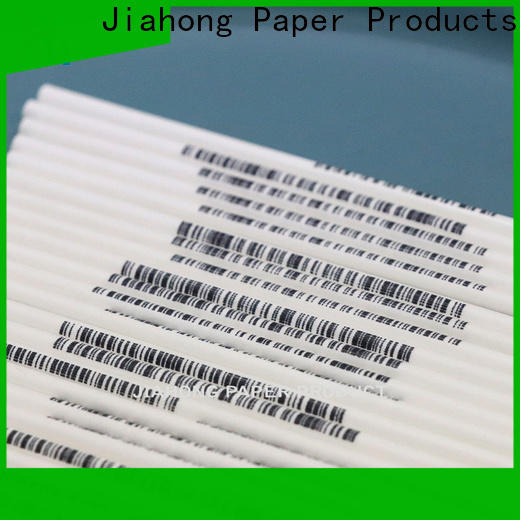 Jiahong widely used paper lolly sticks overseas market for lollipop