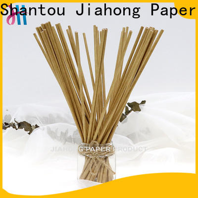 Jiahong color fsc certified paper sticks factory price for medical cotton swabs