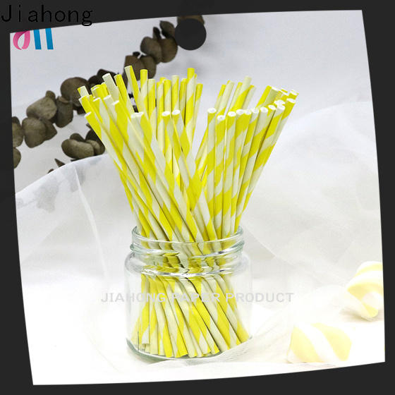 Jiahong environmental lollipop sticks bulk grab now for lollipop