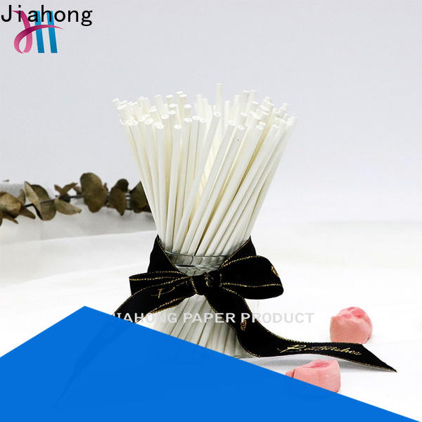 Jiahong food paper coffee stirring stick vendor for packed coffee