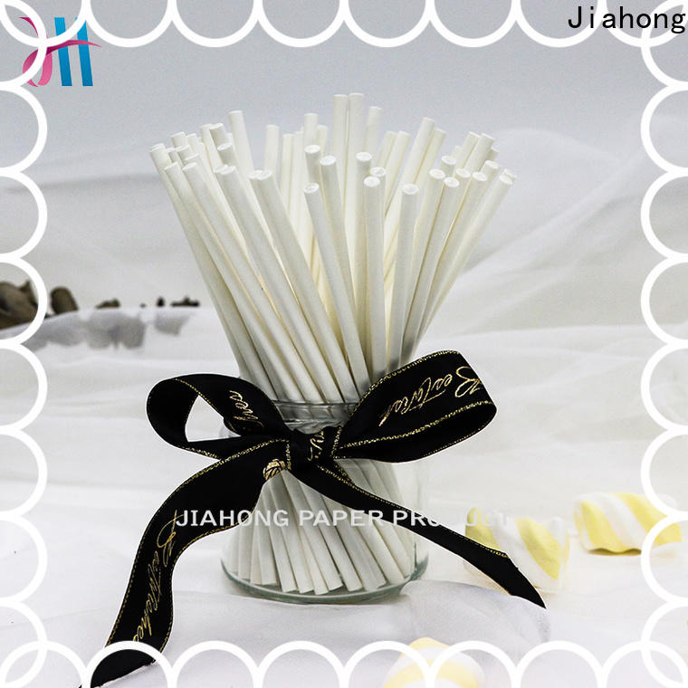 Jiahong printed coloured lollipop sticks in different colors for lollipop