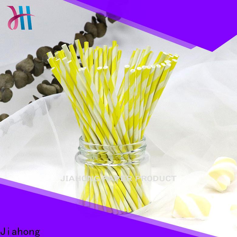 Jiahong safe coloured lollipop sticks for lollipop