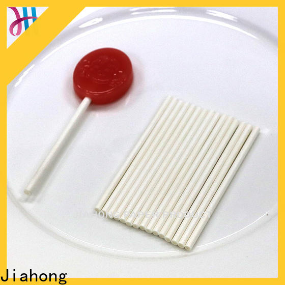Jiahong striped colored lollipop sticks in different colors for lollipop